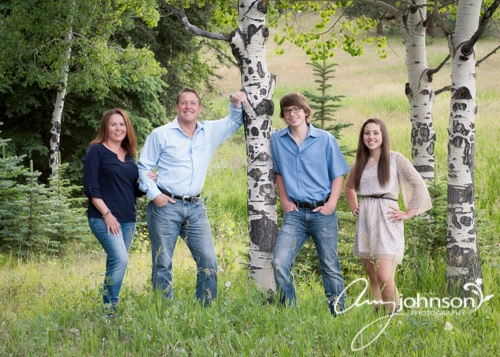 Conifer family photographer