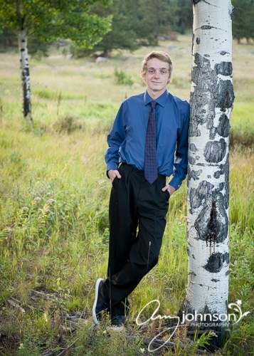 Upright bass senior pictures