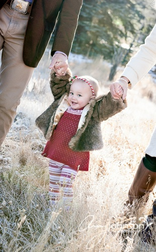 Evergreen baby portraits