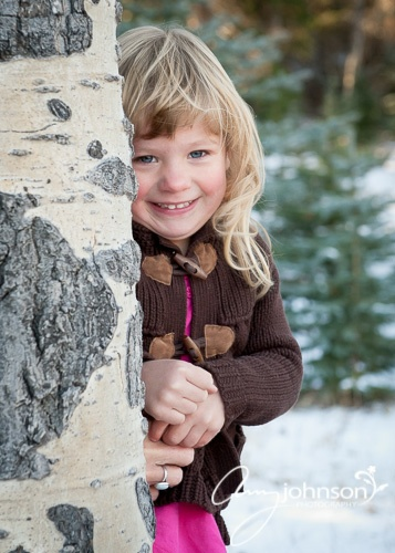 Evergreen child photographer