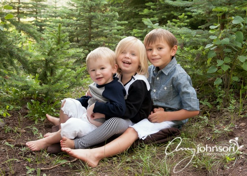 Evergreen outdoor portraits
