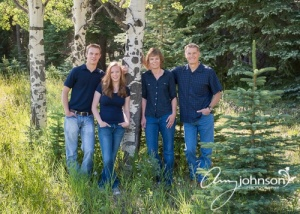 Conifer family portraits
