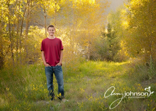 Confier High School senior pictures
