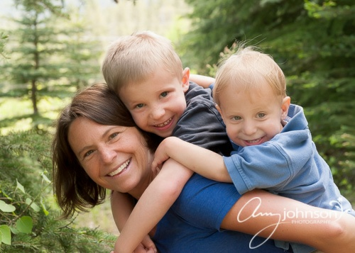Conifer family photographer