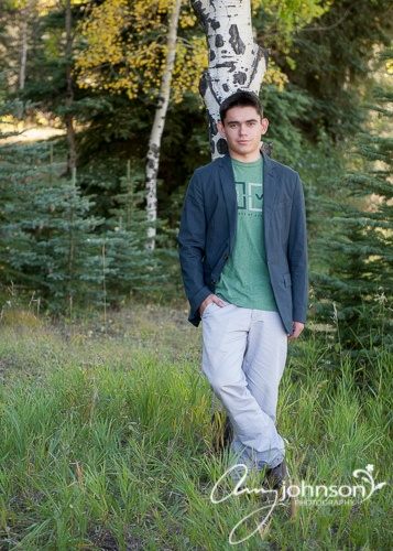 Evergreen Senior pictures