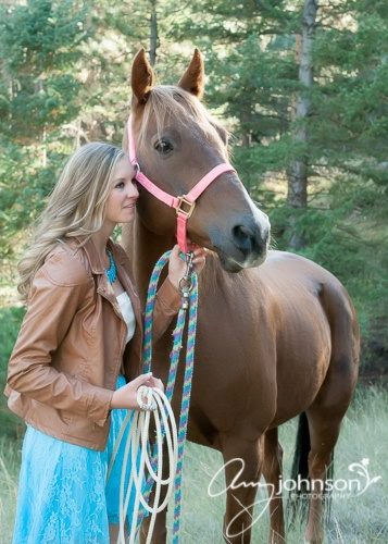 Evergreen horse pictures