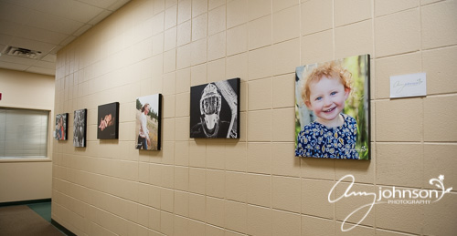 Buchanan Rec Center photography display