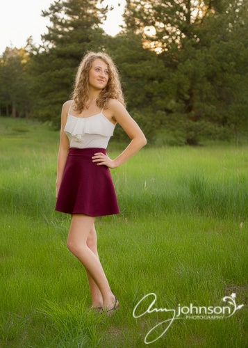 Conifer senior pictures