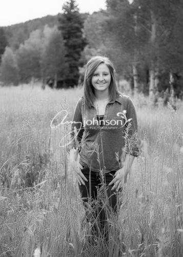Colorado mountain senior pictures