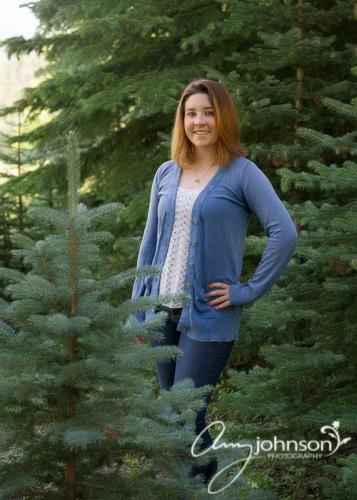 Evergreen senior pictures