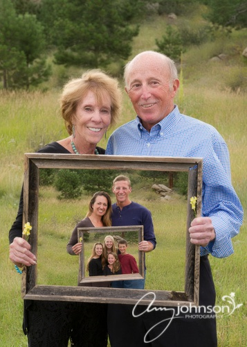 Evergreen family reunion pictures