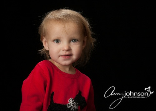Evergreen holiday portraits